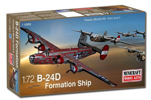 B-24D Formation ship