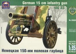 German 15cm infantry gun sIG 33
