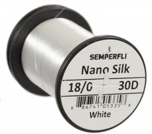 Nano Silk 30 Denier 18/0 White