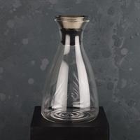 Karaff, glas/RF stål, 1,5L