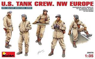 U.S. TANK CREW. NW EUROPE