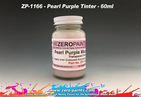 Pearl Purple Mica Transparent Tinter Paint 60ml