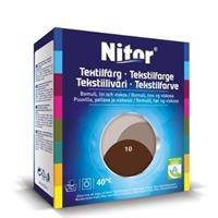Nitor Tekstilfarge, Mocca 10