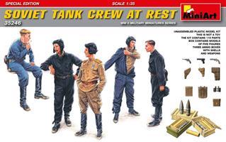 Soviet Tank Crew at Rest.Special Edition