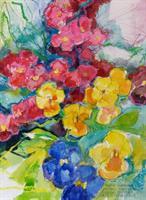 Blomster fra mammas hage