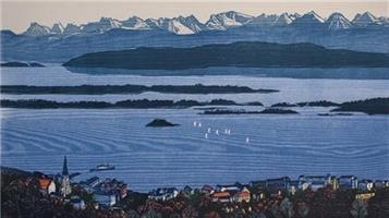 Lars Christian Istad-Regatta i det blå