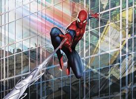 Komar fototapet Spider-man Rush