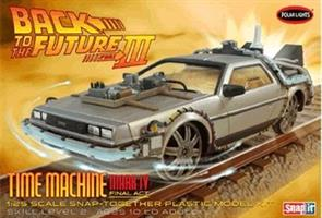 Back to the Future III Final Act Time Machine Snap