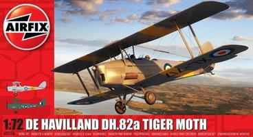 De Havilland DH.82a Tiger Moth. Inkl Vingtor