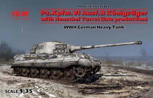 Pz.Kpfw.VI Ausf.B Königstiger w.Henschel Turret(la