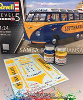 Lufthasa Samba Bus - Blue and Yellow Paint Set 2x3