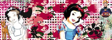 Komar fototapet Disney Charming Snow White