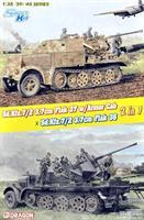 Sd.Kfz.7/2 3.7cm Flak37 w/Armored Cab x Sd.Kfz.7/2
