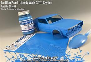 Ice Blue Pearl Paint for Liberty Walk GC111 Skylin