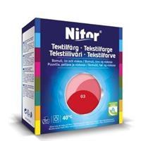 Nitor Tekstilfarge, Tomat 03