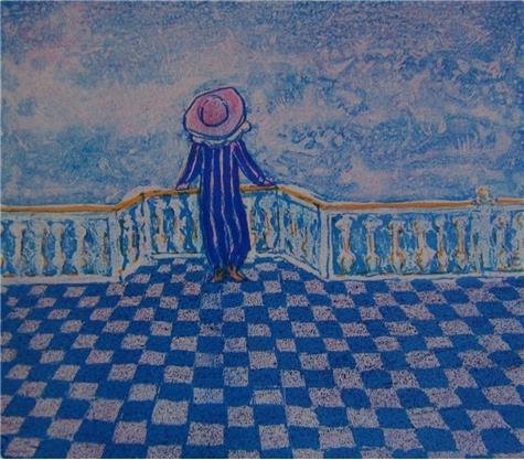 Dang Van Ty-På balkongen