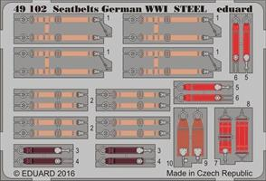 Seatbelts German WWI STEEL 1/48