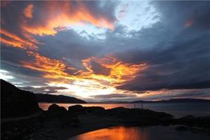 Åse Juul - Solnedgang i Korsvika III