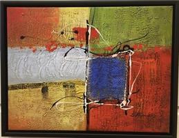 B.Russell Abstrakt maleri 4