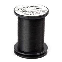 Nano Silk 50 Denier 12/0 Black+