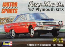 '67 Plymouth GTX Sox & Martin