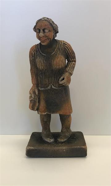 Steinar Garberg - Dame med veske