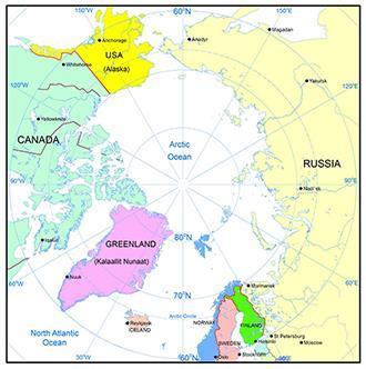 Ny bok och karta om mineraltillgångar norr om 60:e breddgraden