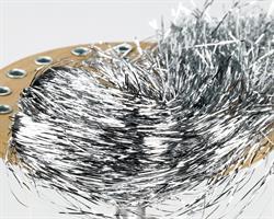 Tinsel Hair - Silver