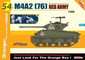 M4A2 (76) Red Army w/Maxim Machine Gun