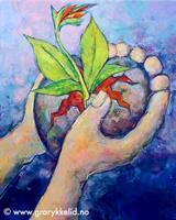 Det skal spire håp… Orginalmaleri