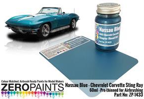 Nassau Blue Paint - 1965 Chevrolet Corvette 60ml