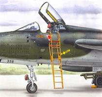 Ladder for F-105B/D