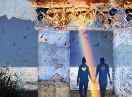 Anne Gundersen-Together through the doorway