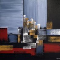 Åse Juul - Abstraction II - SOLGT