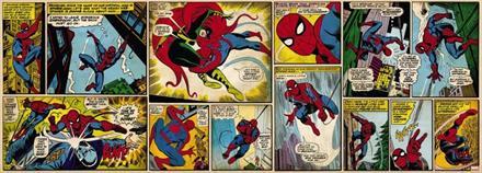 Komar fototapet Marvel Comic Spiderman