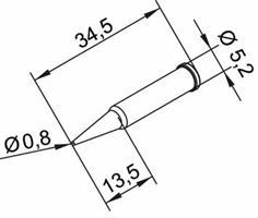 Tip Ersadur 0,8mm Pencil, Long