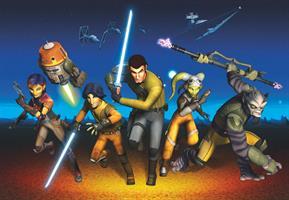 Komar fototapet Star Wars Rebels Run