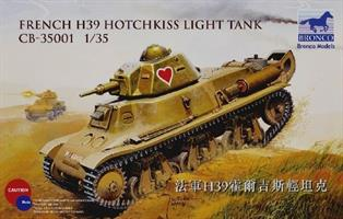 French H39 Hotchkiss Light Tank