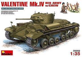 Valentine Mk.4 Red Army w/crew