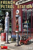 French Petrol Station 1930-40s