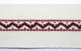 Monterte Damebånd - Hvit