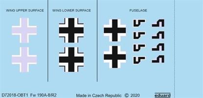 Fw 190A-8/R2 national insignia
