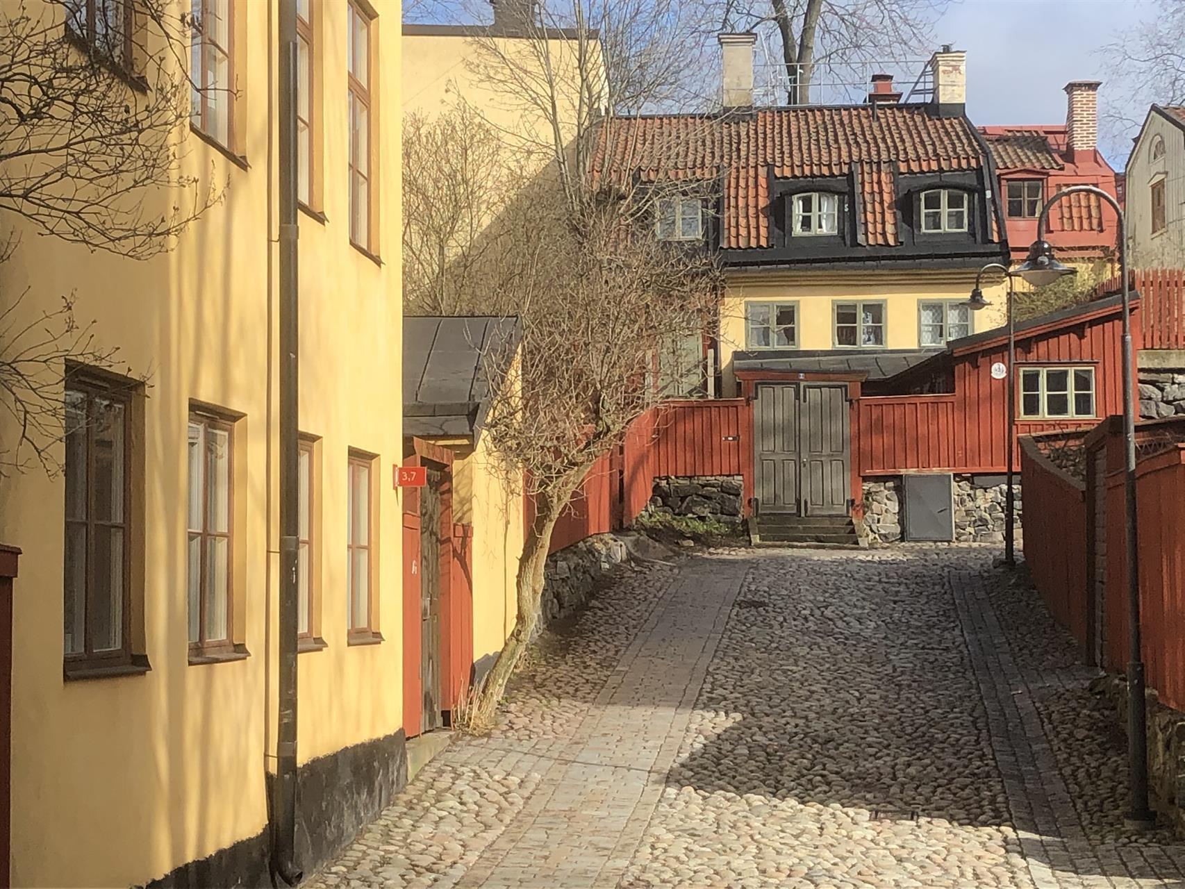 Södermalm Stockholm  Foto: Reine Lindholm