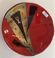 Tove Løvli - Bolle i rødt, gull og sort