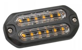 LED Modul (12 dioder) Gul