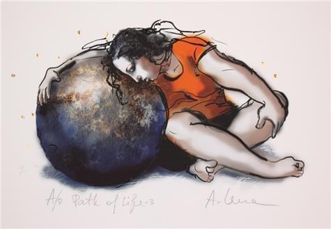 Lena Akopian-Path of life III
