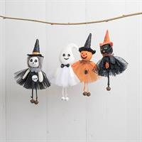Halloween, figurer, häng, 4 sort