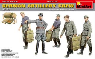 GERMAN ARTILLERY CREW. SPECIAL EDITION