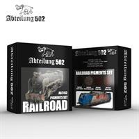 Railroad Pigments Set