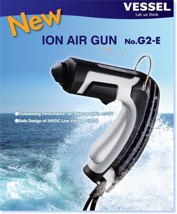 Ionisaattoripistooli Ion Gun G2-E?